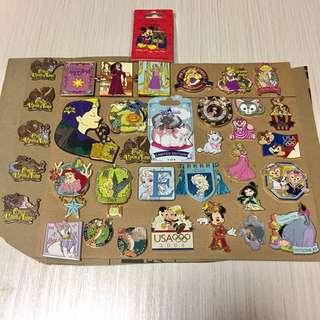 迪士尼 Disney Pin Trade 襟章 徽章 交換
