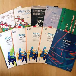 Piano Practical and Theory Books