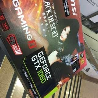 全新100%work msi gtx 1060 gaming x 3g