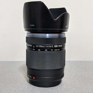 Olympus 14-150mm 4-5.6II ED weather-sealed travel lens