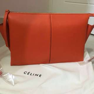 Celine Tri-fold Clutch on Chain Bag