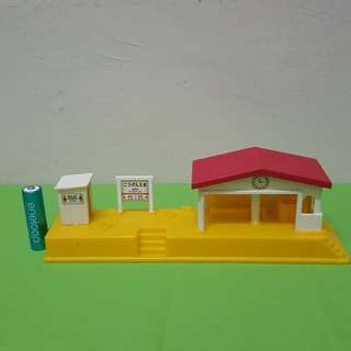 Train/ bus station for diorama