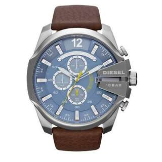 Diesel DZ4281 Chief Series Mens Chronograph Blue Dial Watch