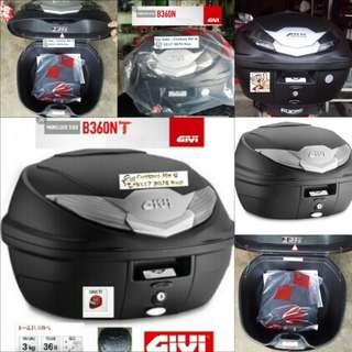 0112---GIVI BOX B360nt WHITE Reflection For Sale !!!Brand New (YAMAHA, Honda, SUZUKI, ETC)