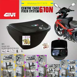 0112**--Givi Front Box G10N With Key Lock...Yamaha Sniper, Yamaha jupiter, Spark, Yamaha 125Z, Yamaha Sniper 150, Honda Wave Etc.