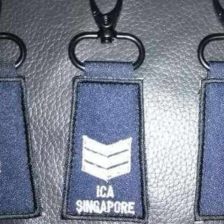 Mini Rank Keychain Tag - ICA