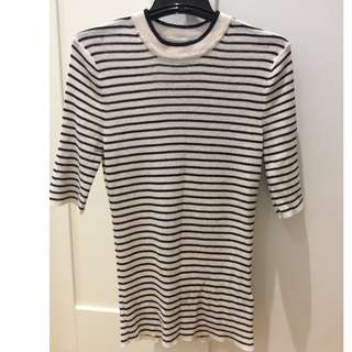 BRAND NEW H&M Stretchy Stripe top