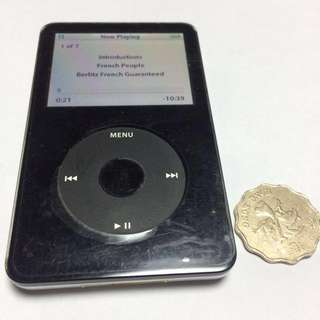 iPod classic 30GB 100% Fully functional