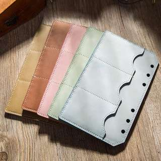 Planner Card Leather Insert
