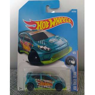 Hotwheels Rally Ford Fiesta HW Race Team