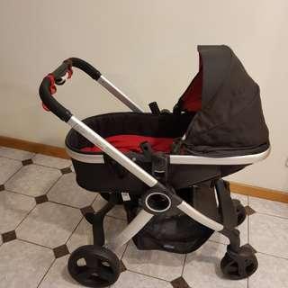 隋棠代言嬰兒推車