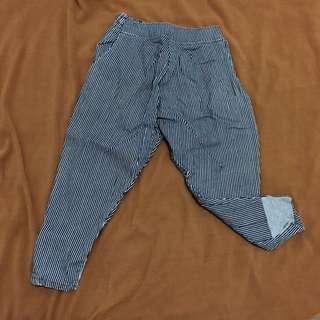 🚚 條紋老爺褲