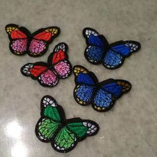 Iron On Patches butterfly