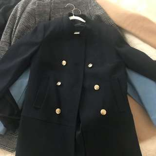 ZAra military coat in XS