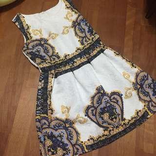 🚚 巴洛克風洋裝