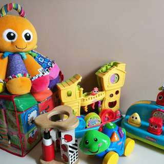 Preloved baby toys in good condition