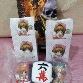 🚚 小櫻+小狼+艾斯+六萬小玩偶