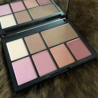 NARS blush and contour palette