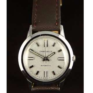 Caravelle by Bulova Vintage Dress Watch, Swiss Made
