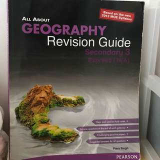 Geography revision guide TB