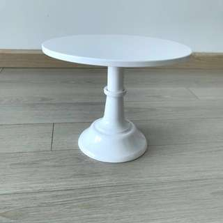 "Rent - Party Cake Stand 8"" Adjustable height"