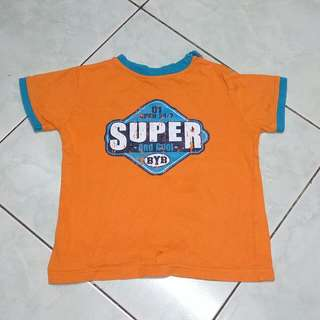 Orange shirt for toddlers