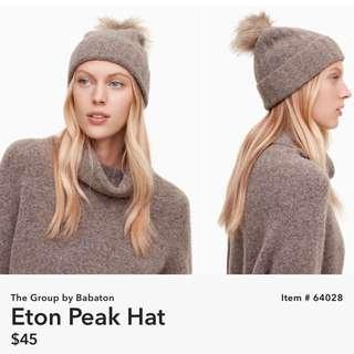 Aritzia Community Eton slouchy Hat