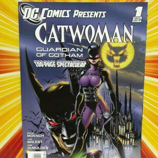 Dc comics presents 1 shot catwoman