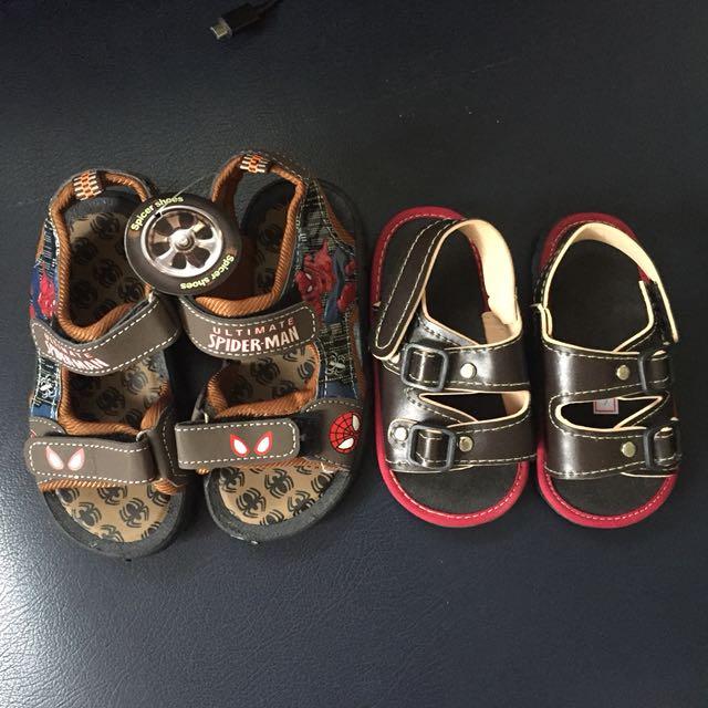 2pcs Boy sandals