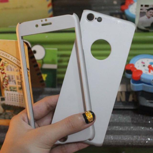 360 case for iphone 6/s (FIX PRICE🙏🏻 MOHON MAAF UNTUK YANG MELAKUKAN PENAWARAN TIDAK SAYA BALAS YA SUDAH JAMIN MURAH PAKAI BANGETSSS)