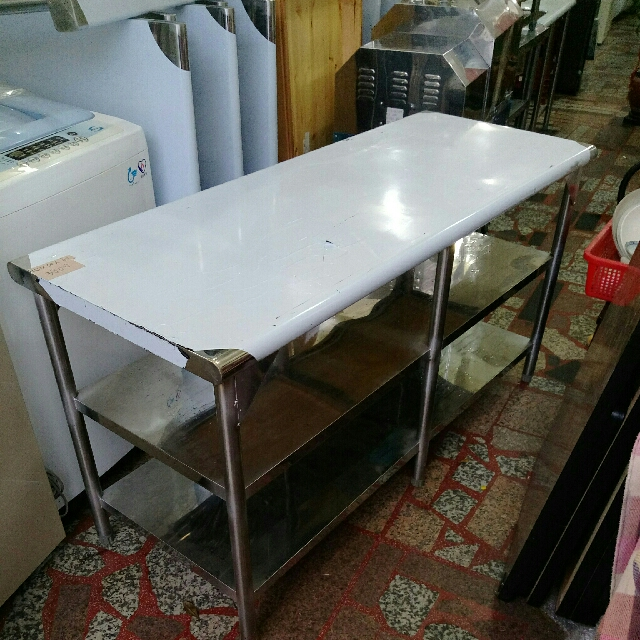 五尺三層工作平台桌