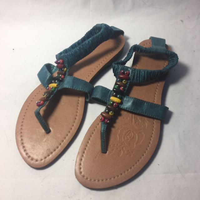 民族風羅馬涼鞋
