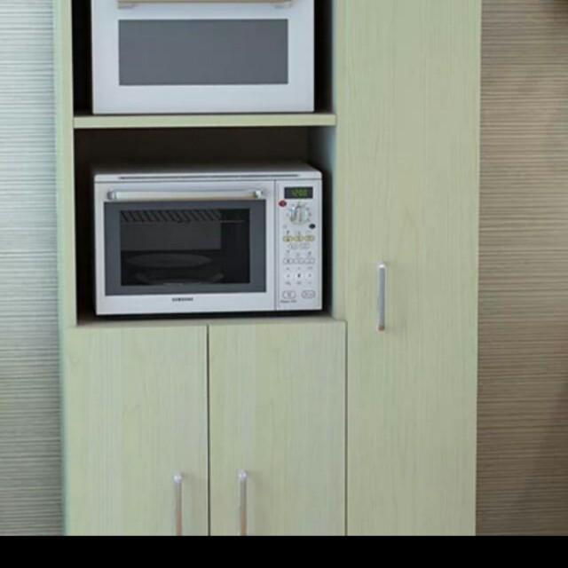 微波爐零食雜物櫃