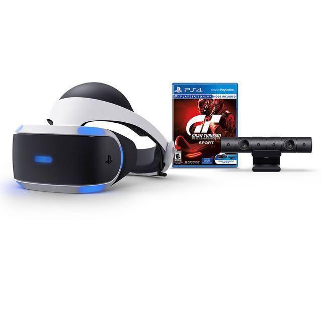 美國代購 🇺🇸 PS4 VR + Gran Turismo Sport kit #聖誕節玩具代購