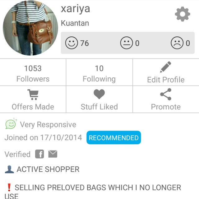 💖 Thank You Carousell 💖
