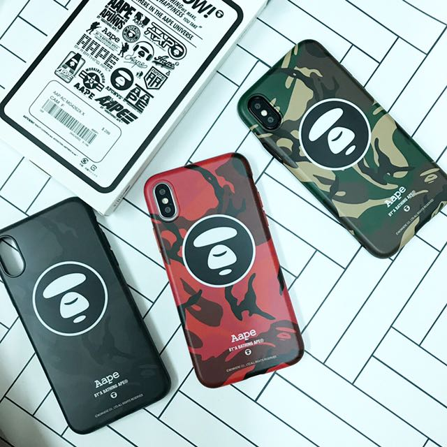 AAPE design TPU case iPhone X only