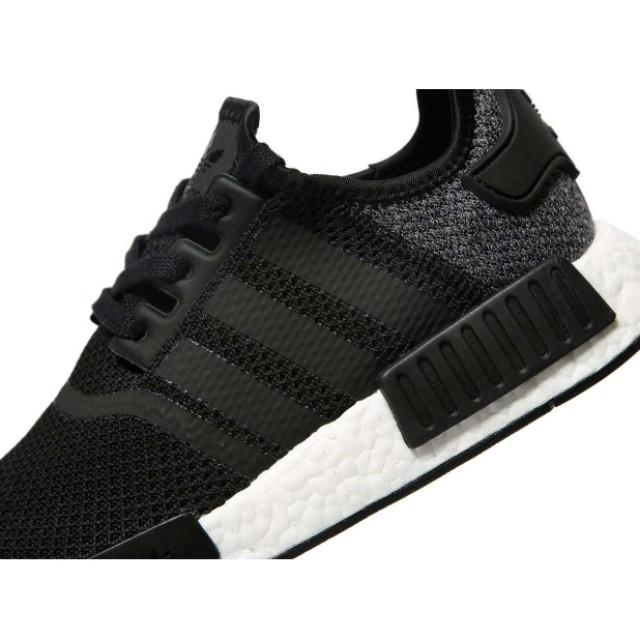 5e9a639c2f34d Adidas NMD R1 Black Wool Grey