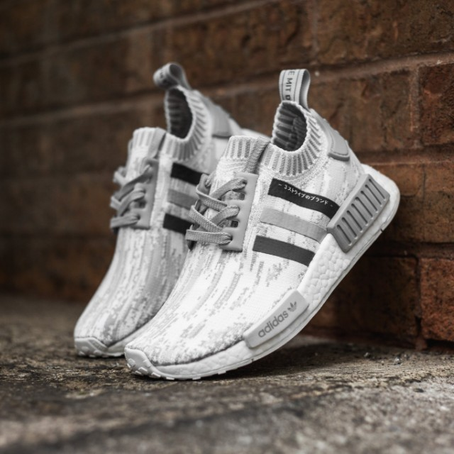 1aae249659d94 Adidas NMD R1 PK Japan Camo White Grey