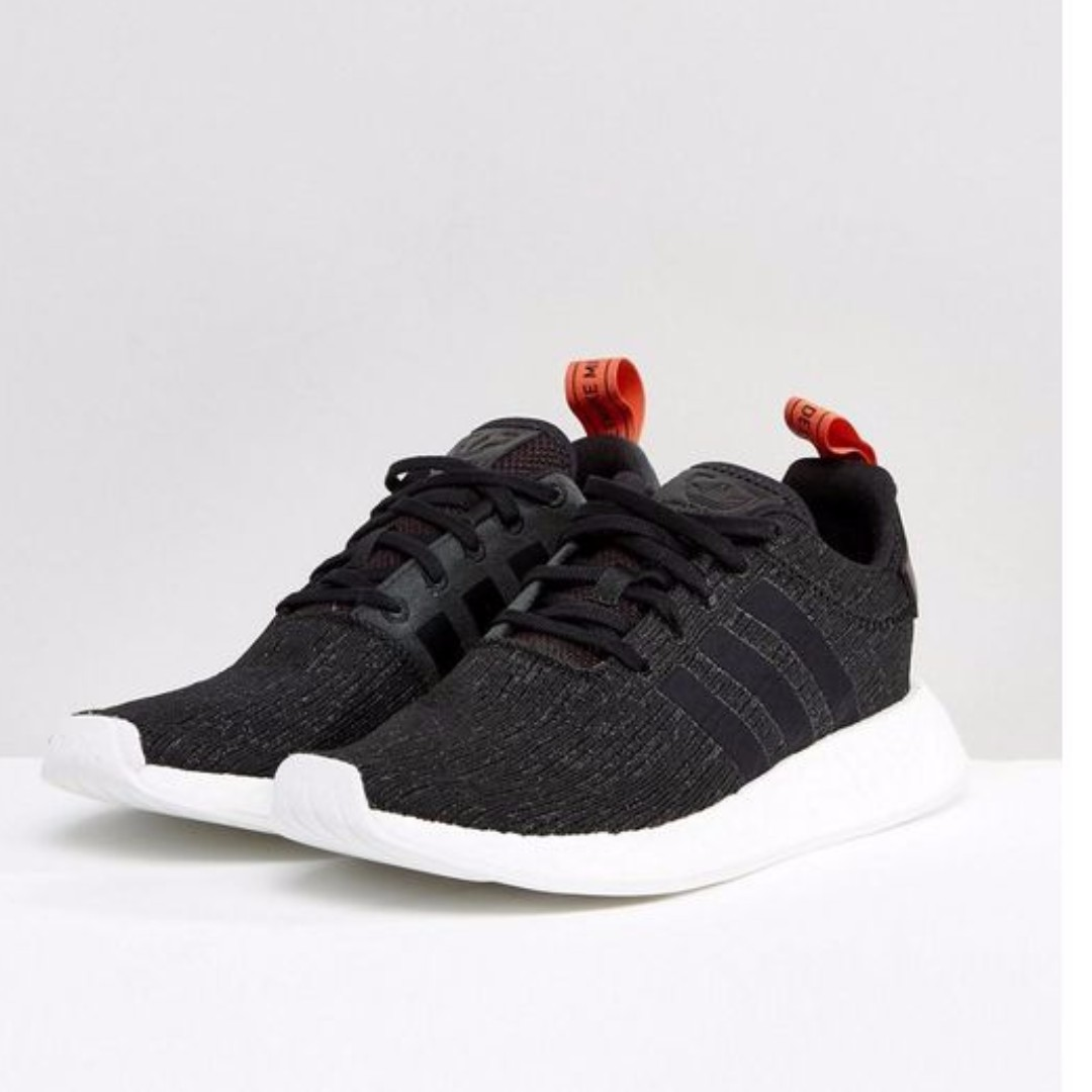 114e9b57b Adidas Originals NMD R2 Trainers In Black CG3384 CHEAPEST ON ...