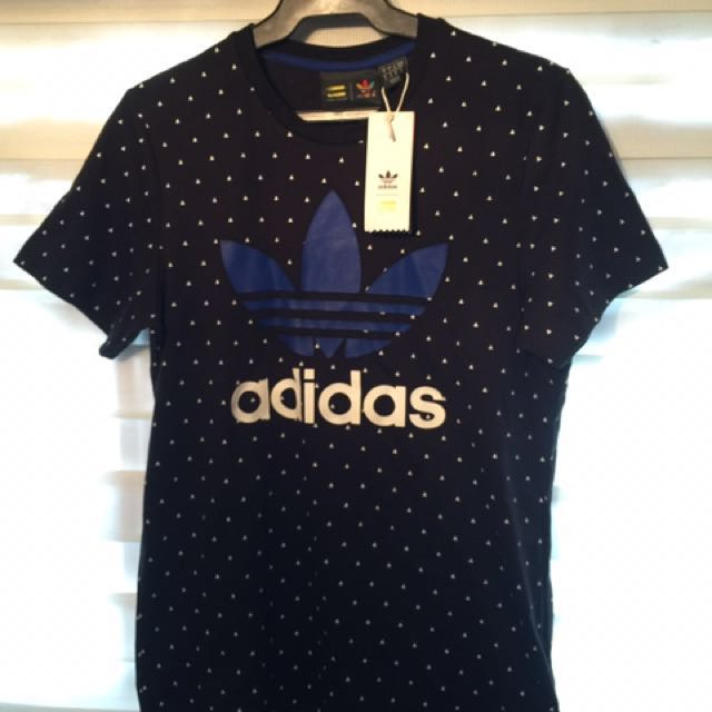 Adidas Originals x Pharrell Williams Printed Trefoil T-shirt