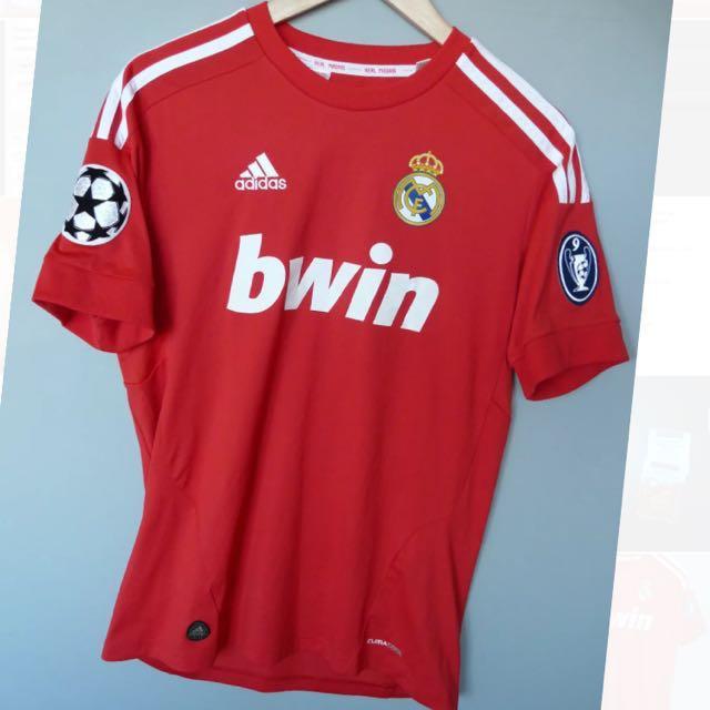 72bd00c39 Adidas Real Madrid 2011 3rd Kit Jersey Red