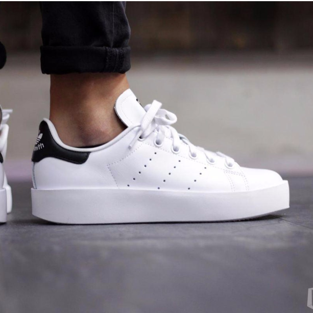 Adidas Stan Smith Bold Platform Sneaker 37 1/3, Women's Fashion, Shoes on Carousell