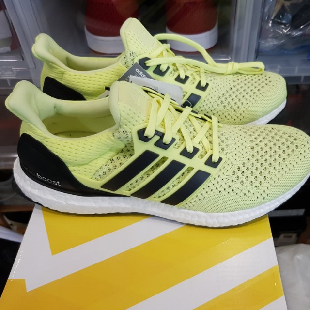54de6c98ebc84 Adidas ultra boost 1.0 solar yellow us 8