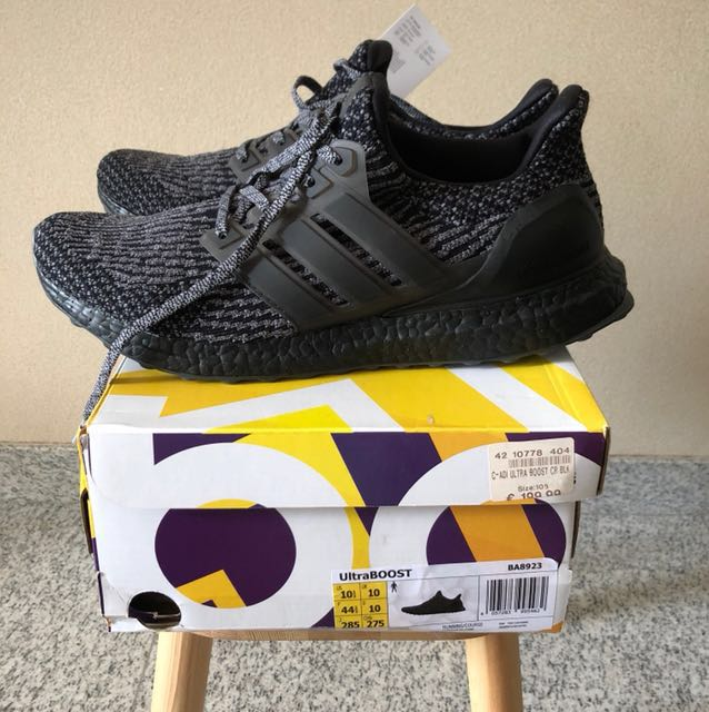 c276a90a6 Adidas Ultra Boost 3.0 Triple Black UK10 US10.5