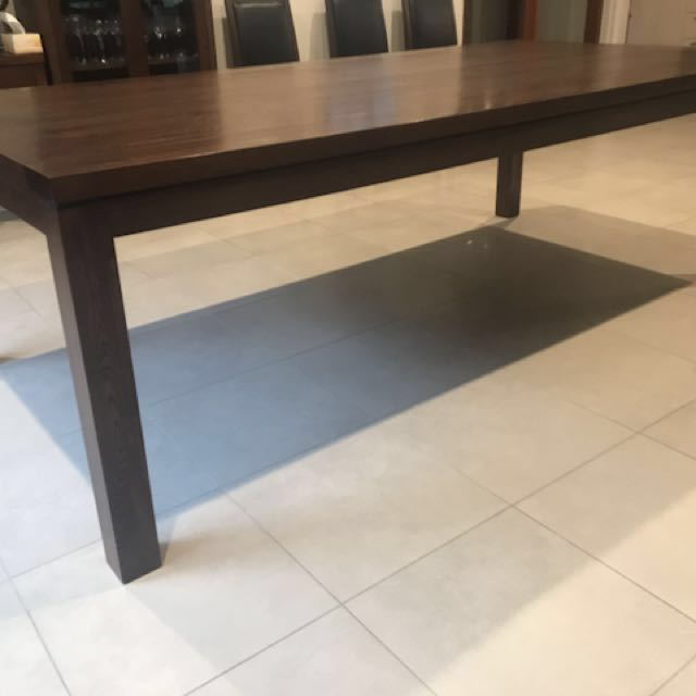 Adriatic Furniture Koco Dining Table 240x120 Solid Elm 19mm