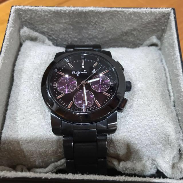 Agnes.b經典款手錶
