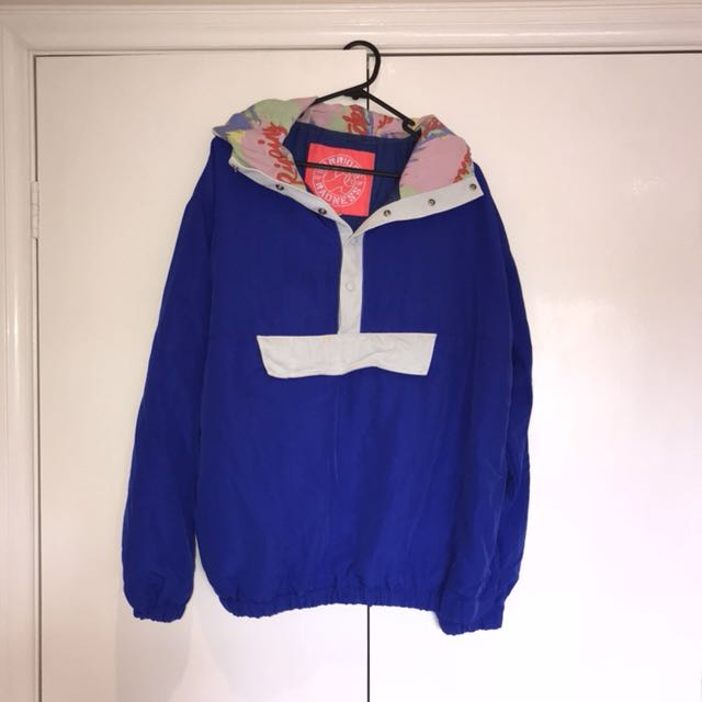 American Apparel Retro Nylon Bomber Jacket