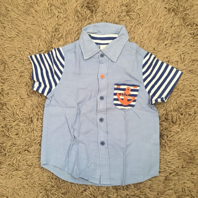 Anchor Blue Shirt