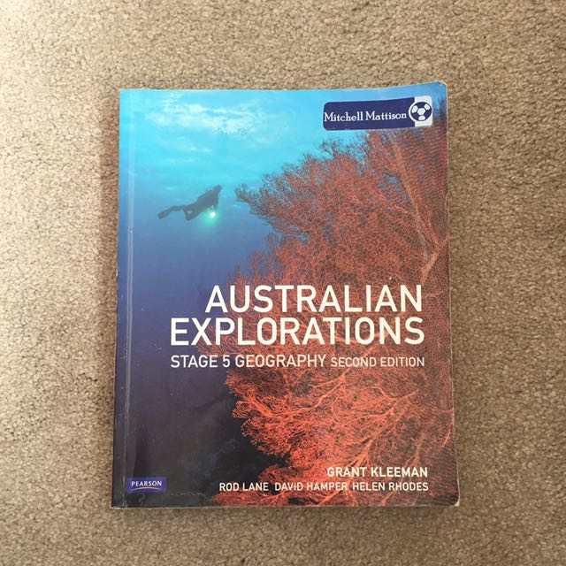 Australian explorations stage five geography