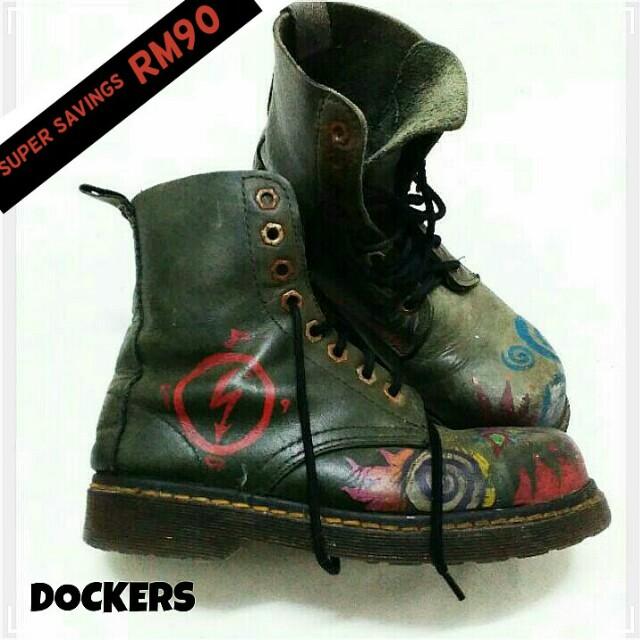 💯Authentic brand DOCKERS highcut shoes RM170 (U.P. RM260)